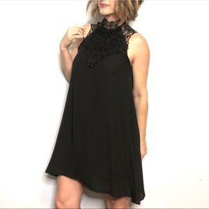 ALTAR'D STATE Black Swing Dress